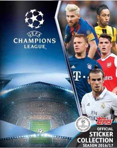 Album Completo Champions League 2016/17 Topps