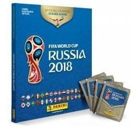 Album Mundial Rusia 2018 Pasta Dura Y 5 Sobres Panini