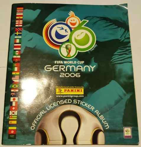 Album Panini Alemania 2006 Casi Completo.