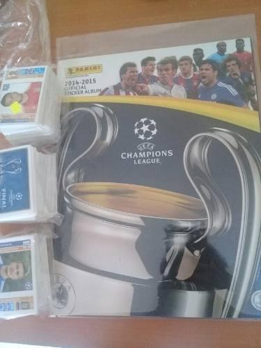 Album Uefa Champions League 2014 -2015 +500 Estampas