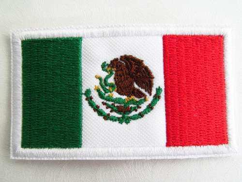 Bandera Mexico Parche 9x6cm Uniforme Deportivo Gotcha Pcoser