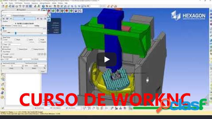 ★ ?? CURSO DE WORKNC Y PROGRAMACIÓN CNC | DISEÑO 3D
