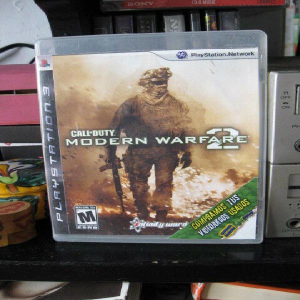 Call of Duty Modern Warfare 2 Playstation 3 usado