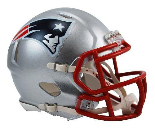 Casco Mini Speed Nfl Patriotas New England Patriots