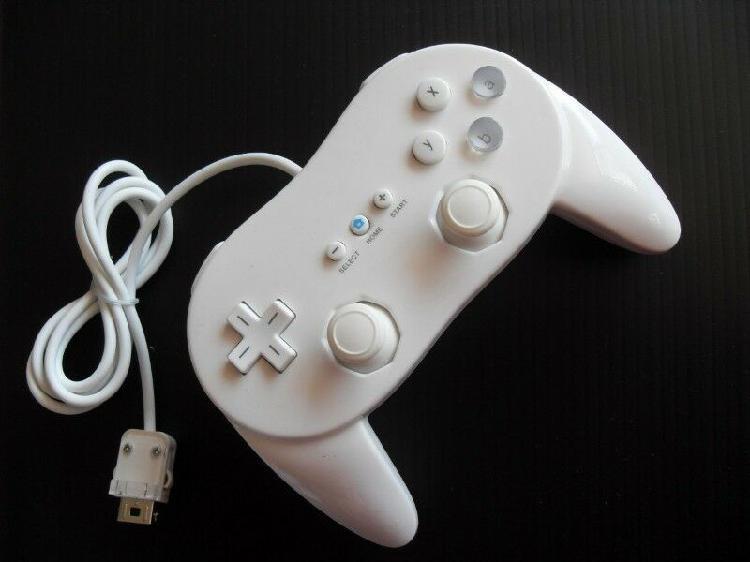 Classic Control Pro Para Wii Centro De Monterrey