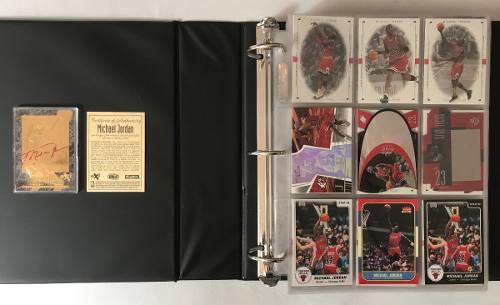 Colección De 401 Cards De Michael Jordan Nba Tarjetas Album