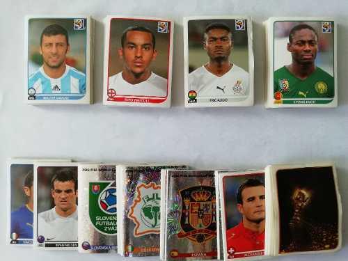 Coleccion Sudafrica 2010 Fifa Wc Lote 495 Estampas Panini