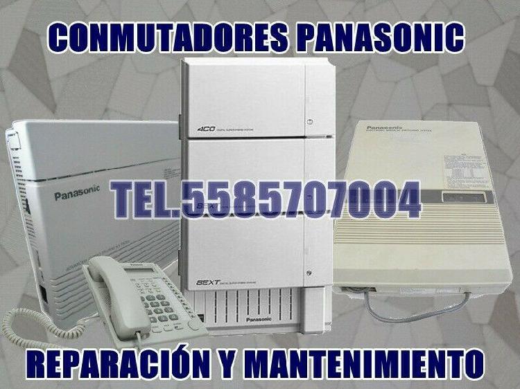 Conmutadores Panasonic, Reparación e Instalación