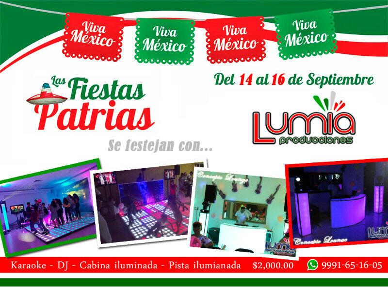 DJ karaoke fiestas patrias