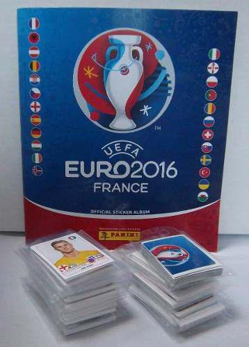 Estampas Panini Euro Francia 2016