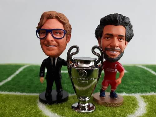 Figura M Salah + Jurgen Klopp + Miniatura Champions League
