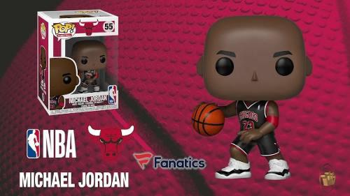 Funko Pop Michael Jordan 55 Exclusivo Chicago Bulls Nba