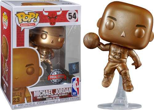 Funko Pop Michael Jordan Bronce Edicion Especial #54
