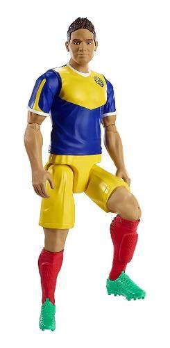 James Rodriguez Figura De Futbol Mattel Fc Elite 30 Cms.