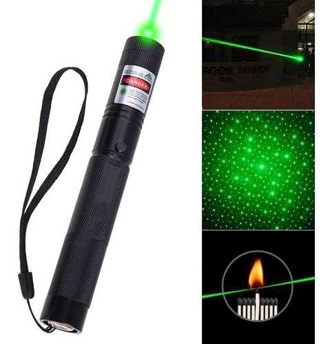 Laser Verde Potente De mw Alcanze De 15km