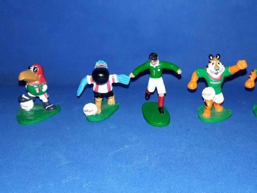 Lote De 4 Figuras De Kellogs De Los 90s Seleccion Mexicana