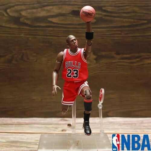 Michael Jordan Figura Nba Chicago Bulls Motion Series 2