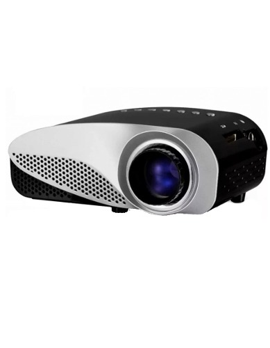 Mini Proyector Led Con Sintonizador De Tv Digital 500 Lumens