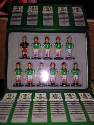 Minigols 11 Figuras De Coleccion De La Seleccion Mexicana.