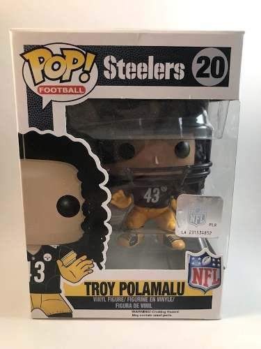 Nfl Funko Pop Troy Polamalu Pittsburgh Steelers