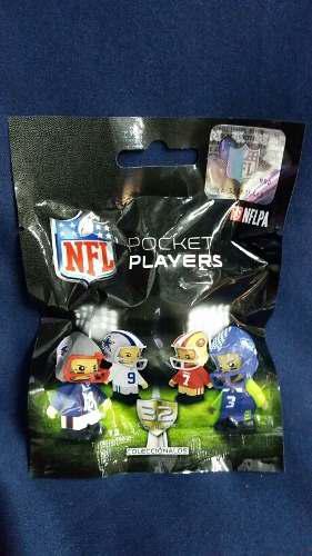 Nfl Pocket Players Nflpa Sobre Con 1 Figura Al Azar