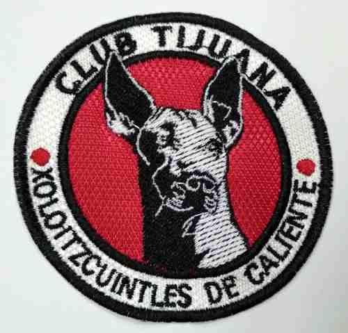 Parche Bordado Del Club Deportivo D Fútbol Xolos De Tijuana