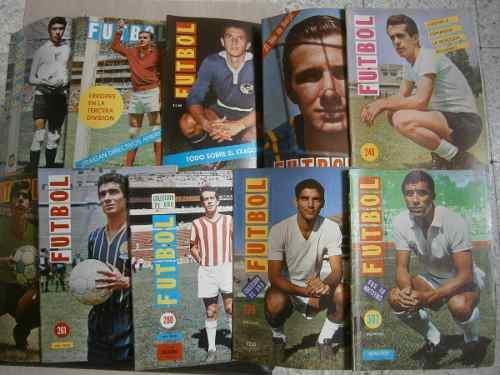 Revista Futbol De Mexico Y Del Mundo Lote De 34 #s 1967-73