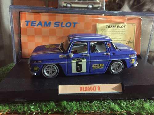 Team Slot Renault 8 Scalextric
