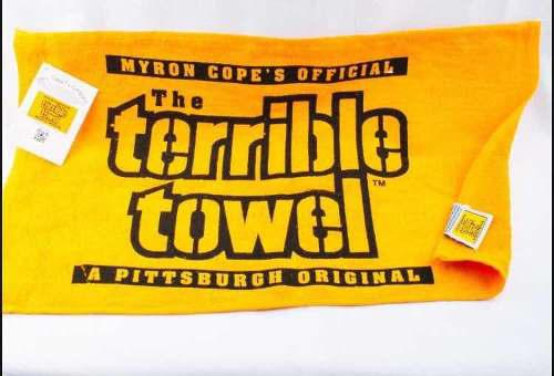Toalla Pittsburgh Steelers Terrible Towel Producto Oficial