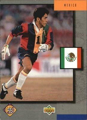 Upper Deck Usa'94 Set De 4 Tarjetas De México (contenders)