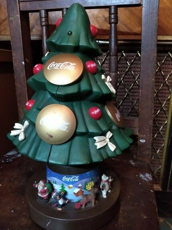 Vendo árbol de navidad coca cola