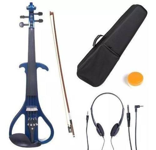 Violin Electrico Cecilio 4/4 Instrumento Musical Accesorios