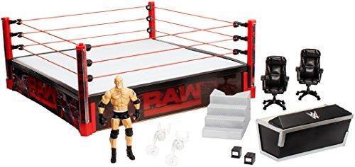 Wwe Elite Wrestlemania Ring Set De Juego - Nuevo