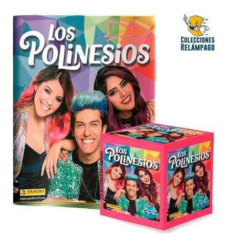 lbum Los Polinesios + Caja De Estampas Panini + Envío