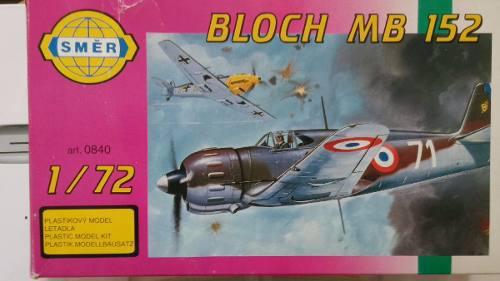 Bloch M B 152, Marca S M E R, Escala 1/72