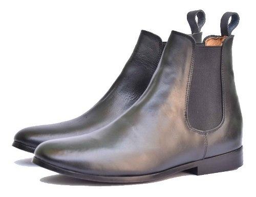Botín Chelsea Boots Piel Color Negro. Andre Bocassi