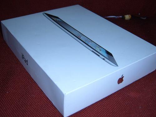 Cajas iPad 2, 3 Y 4 De 16gb, 32gb Y 64gb Blancas O Negras