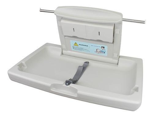Cambiador De Pañales Para Bebe Horizontal Baño Comercial