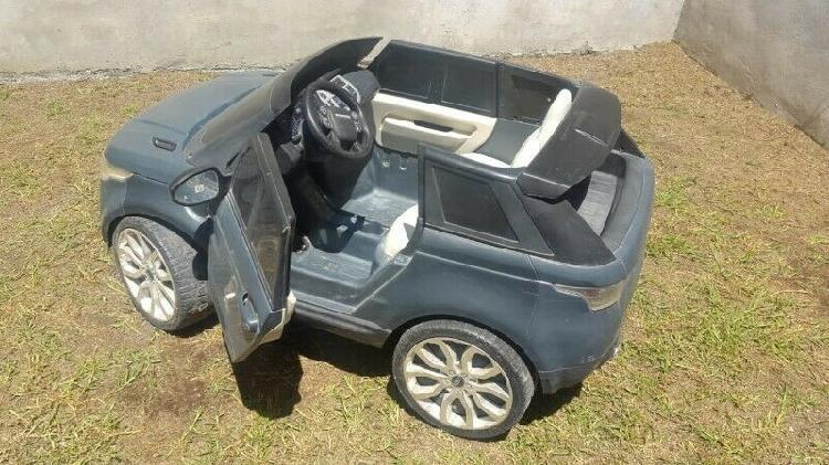 Carro Eléctrico Niños Range Rover Sport