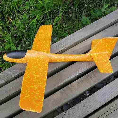 Diy Throw Glider Epp Espuma Avión Mano Lanzamiento Deportes