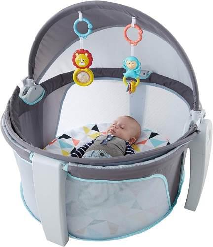 Domo Moises Cuna Portatil Para Bebe Bambineto Fisher Price