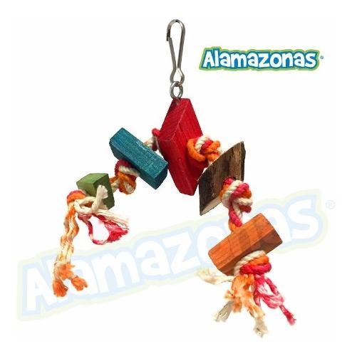 Juguete Mini Para Periquitos Alamazonas (chico) 10cm