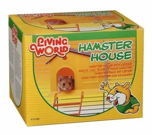 Lote 30 Piezas Casa Para Hamster Con Escalera Hh61480