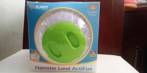 Sunny Esfera Hamster Grande 18 Cm Radio Verde Protege Cuida