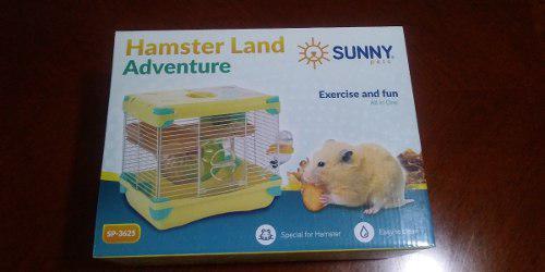Sunny Jaula Hamster Land Adventure Sp3625 27.7x20.5x25 Cm