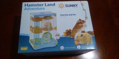 Sunny Jaula Hamster Land Adventure Sp3627 27.7x20.5x42.5 Cm