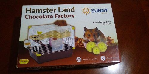 Sunny Jaula Hamster Land Chocolate Factory Sp3644