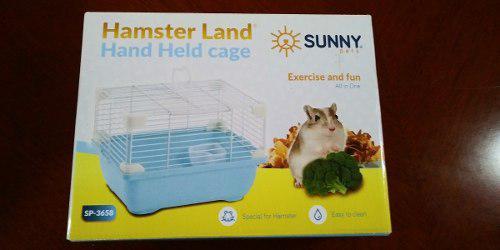 Sunny Jaula Hamster Land Hand Held Cage Sp3658 24x18.3x16 Cm