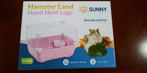 Sunny Jaula Hamster Land Hand Held Cage Sp3659 24x18.3x16 Cm