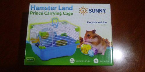 Sunny Jaula Hamster Land Prince Carrying Cage Sp3642